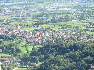 Cervasca Comune in Piedmont, Italy