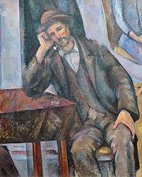 Paul Cézanne: Man Smoking a Pipe
