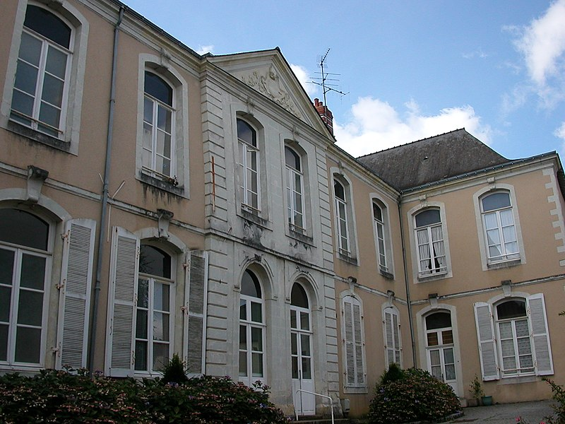 Hôtel Lemotheux in Château-Gontier, mansion of the XVIIIth century