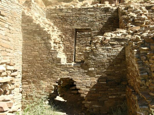 Chaco Canyon Wijiji interior NASA