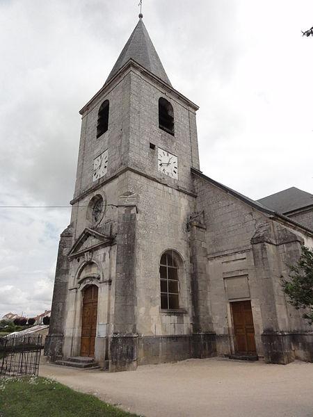 Chalaines (Meuse) église