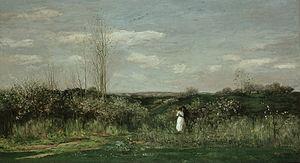 Charles-François Daubigny - Charles-François Daubigny - Le printemps - Spring