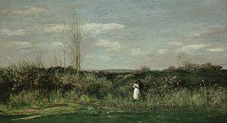 Charles-François Daubigny - Charles-François Daubigny – Le printemps – Spring