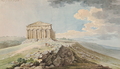 Charles Gore View of the Temple of Concord at Agrigentum.png