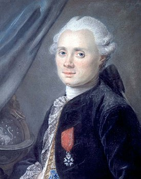 The painting of Charles Messier