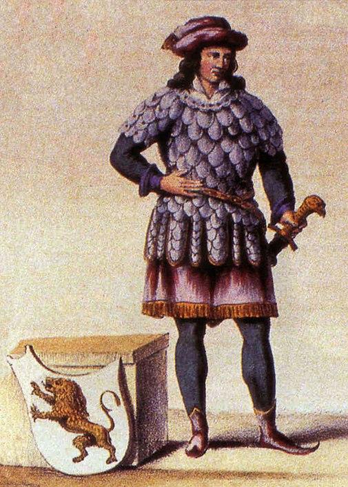 Charles de France fondateur de Bruxelles 976 MOD