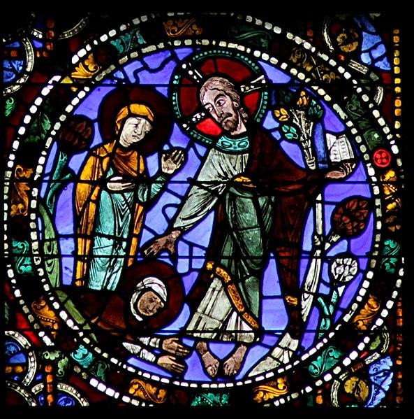 File:Chartres-051 - f2 - Resurrection - Noli me tangere.jpg