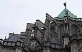 Chartres - cathédrale - arcs-boutants de l'abside.JPG