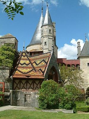 Château de la Rochepot - Image: Chateau La Rochepot 3