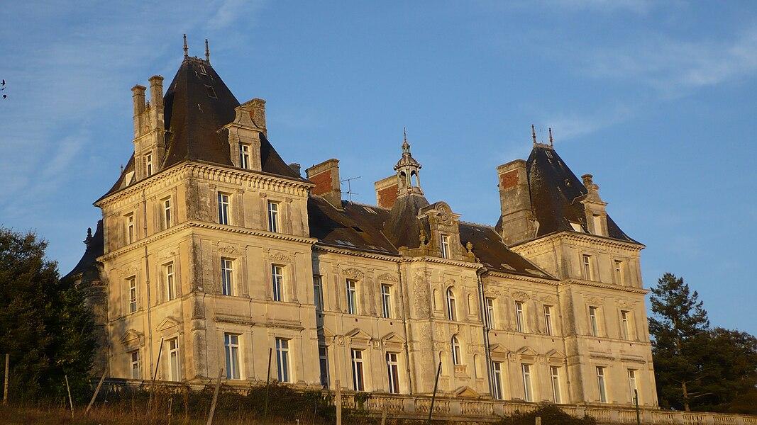 Chateau de Tressé, XIXe, Pouancé