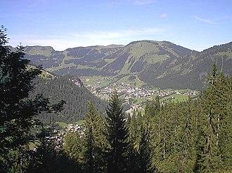 Châtel, Haute-Savoie - A general view of Châtel