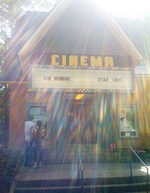 Chautauqua Cinema - Chautauqua Cinema Marquee. Summer 2009