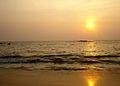 Cherakallu, Kizhunna beach Sunset 1.JPG