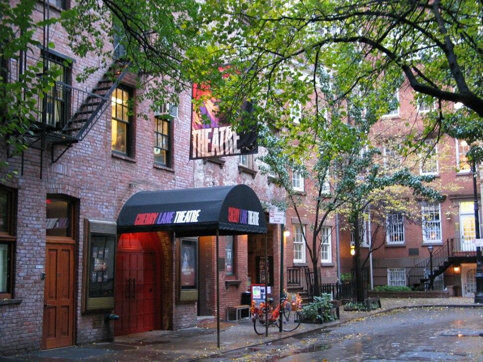 Cherry Lane Theatre, Greenwich Village