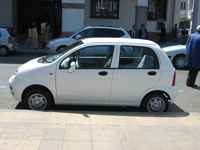 Image of Chery QQ side - Morocco