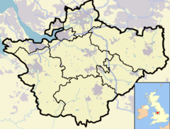 Crewe is located in Cheshire