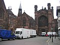 Chester Cathedral and the Antiques Roadshow ^1 - geograph.org.uk - 749327.jpg