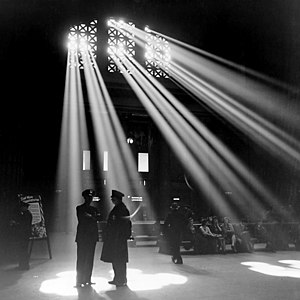 Jack Delano - One of Delano's most famous pictures of Chicago Union Station