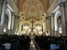 Interno della chiesa di San Gioacchino