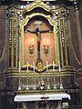 Chiesa di San Giovanni Battista, altare lat croce (San Giovanni in Persiceto).JPG