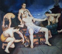Il Martirio di San Lorenzo di Cesare Giuliani