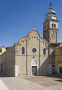 Chiesa di Sant'Andrea Apostolo ou della Zirada Venezia.jpg