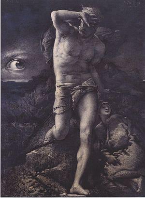 François Chifflart - Image: Chifflart Das Gewissen 1877