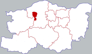Shangjie District District in Henan, Peoples Republic of China