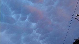 Mammatus cloud - Image: Chingthou