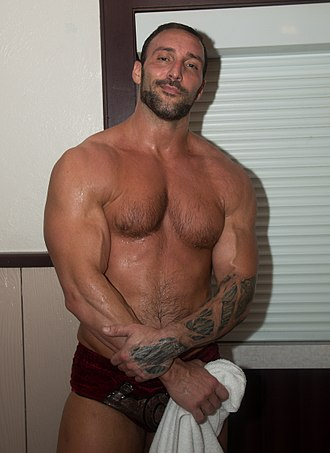 Chris Masters - Masters at a PWA event in 2017