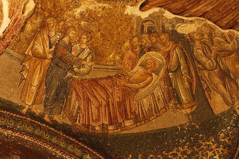 Ficheiro:Christ healing a paralitic in Caphernaum.jpg