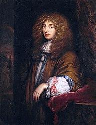 Caspar Netscher: Portrait of Christiaan Huygens