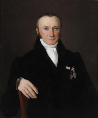 Christian Waagepetersen - Christian Waagepetersen in 1820