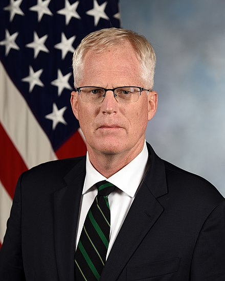 Christopher C. Miller official portrait., From WikimediaPhotos
