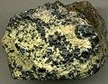 Chromitic serpentinite (Soldiers Delight Ultramafite; Red Pit Mine, State Line Serpentinite District, southeastern Pennsylvania, USA) (14822036482).jpg