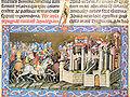 Chronicon Pictum P014 Atilla Aquileiát ostromolja.JPG