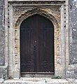 Church Door St Andrew's Stratton - geograph.org.uk - 298732.jpg