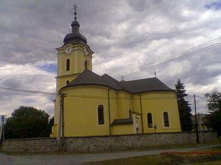 Pečovská Nová Ves Place in Slovakia