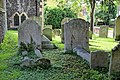 Church of St Nicholas, Ash-with-Westmarsh, Kent - churchyard barrel tombs 02.jpg