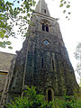 Church of the Holy Innocents, High Beach, Essex, England - tower from north.jpg