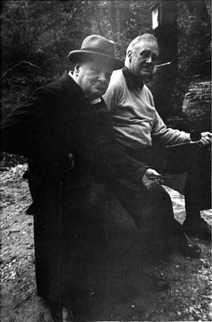 Camp David - Image: Churchill FDR Shangri La 1943