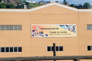 Cidade do Samba - Façade of Cidade do Samba Joãozinho Trinta