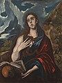 Circle of El Greco - MARY MAGDALENE IN PENITENCE, Frati 151e.jpg