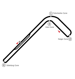 Austrian Grand Prix - Zeltweg Airfield, used in 1963 and 1964