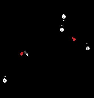 1964 Austrian Grand Prix - Image: Circuit Zeltweg