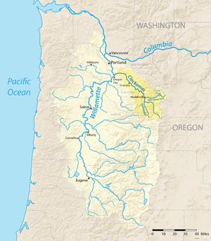 Clackamas River   Wikipedia
