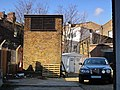 Clapham North deep shelter (south), Bedford Road, SW4 - ventilation shaft - geograph.org.uk - 2267052.jpg