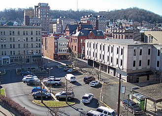 Clarksburg, West Virginia - The Clarksburg Downtown Historic District is listed on the National Register of Historic Places