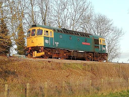 Class 33 33202