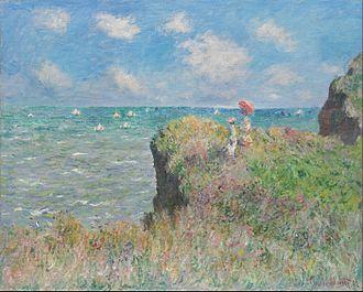 The Cliff Walk at Pourville - Image: Claude Monet Cliff Walk at Pourville Google Art Project